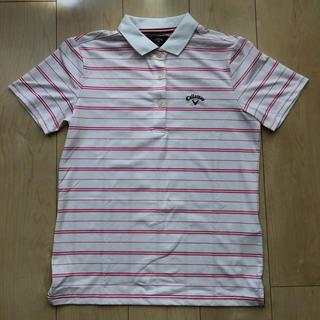キャロウェイゴルフ(Callaway Golf)の【Callaway】キャロウェイ  半袖ポロシャツ サイズM レディース(ウエア)