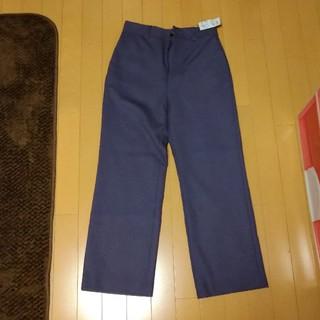 イエナスローブ(IENA SLOBE)のイエナ 新品あったか裏地つきパープル色パンツ(カジュアルパンツ)