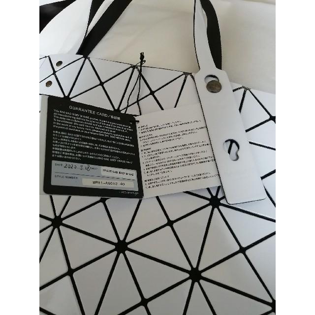 ISSEY MIYAKE(イッセイミヤケ)のBAOBAO  ISSEY MIYAKE バオバオ  バック 白 レディースのバッグ(トートバッグ)の商品写真