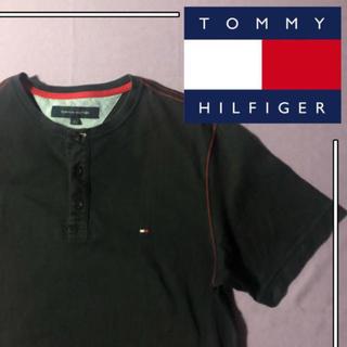 トミーヒルフィガー(TOMMY HILFIGER)の【レア品】TOMMY FILFIGER tシャツ ワンポイント 刺繍(Tシャツ/カットソー(半袖/袖なし))