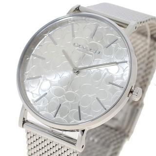 コーチ(COACH)のコーチ腕時計 ペリー レディース 14503384 クォーツ シルバー(腕時計)