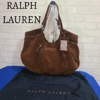 Ralph Lauren - ラルフローレン Ralph Lauren トートバッグ スエード