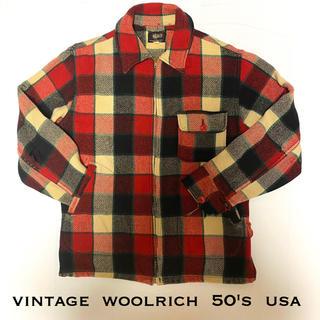 ウールリッチ(WOOLRICH)のwool rich ウールリッチ 古着 vintage シャツ 50's(シャツ)