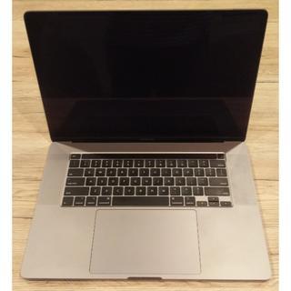 Apple - 16インチMacBook Pro - スペースグレイ(USキーボード)