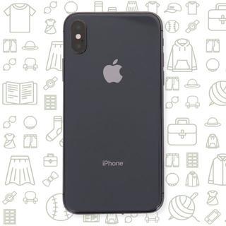 アイフォーン(iPhone)の【C】iPhoneX/256/SIMフリー(スマートフォン本体)