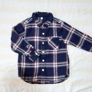 ムジルシリョウヒン(MUJI (無印良品))の無印良品 シャツ 100(ブラウス)