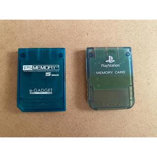 プレイステーション(PlayStation)のプレイステーション1 メモリーカード(PC周辺機器)