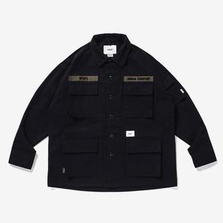 W)taps - 20AW WTAPS JUNGLE LS XL BLACK