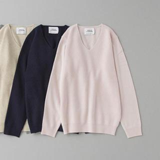 ユナイテッドアローズ(UNITED ARROWS)のアローズ 薄ピンク ニット(ニット/セーター)