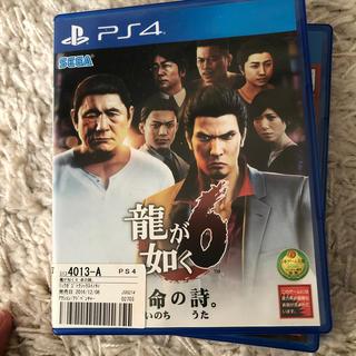 プレイステーション4(PlayStation4)の龍が如く6(家庭用ゲームソフト)