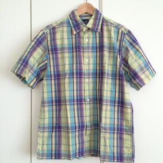 ギャップ(GAP)のコットンシャツ (イエロー)(シャツ/ブラウス(半袖/袖なし))