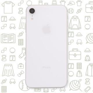 アイフォーン(iPhone)の【C】iPhoneXR/128/SIMフリー(スマートフォン本体)