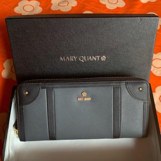 MARY QUANT - ☆マリークヮント 牛革 長財布☆