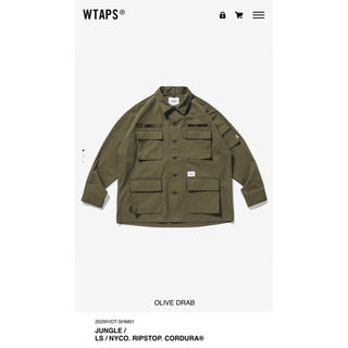 W)taps - wtaps 20aw jungle S オリーブドラブ