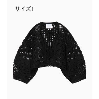 マメ(mame)の1 mame Cording Embroidery Short jacket(ノーカラージャケット)