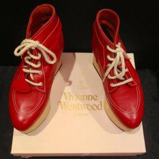 ヴィヴィアンウエストウッド(Vivienne Westwood)のまっしろなこくとう様11/16までお取置(ブーツ)
