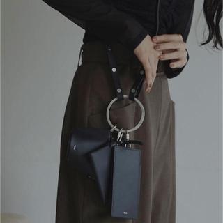 アメリヴィンテージ(Ameri VINTAGE)のosoi ショルダーバッグ ブラック 新品未使用品(ショルダーバッグ)