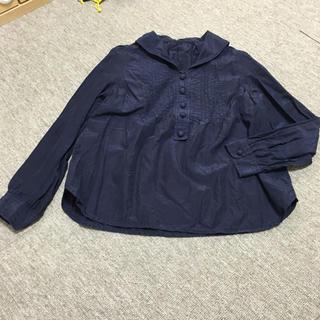 マリンフランセーズ(LA MARINE FRANCAISE)の長袖 トップス シンプル 紺色(カットソー(長袖/七分))