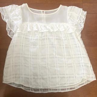 ダブルクローゼット(w closet)のw closet 半袖ブラウス(シャツ/ブラウス(半袖/袖なし))