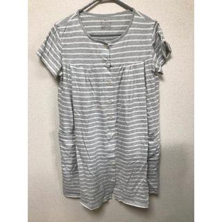 ムジルシリョウヒン(MUJI (無印良品))のマタニティ授乳服2枚セット(マタニティパジャマ)