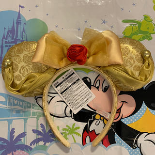 Disney - 美女と野獣 カチューシャ ベル ディズニーランド 新エリア