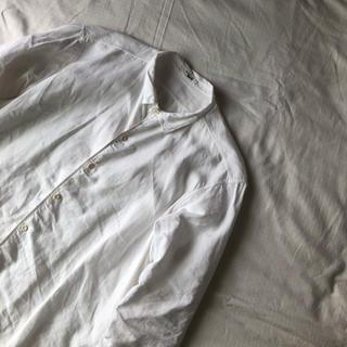 【kaval】simple stitched linen shirt
