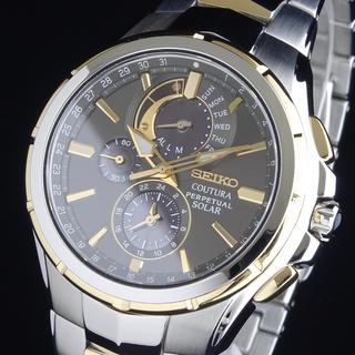 SEIKO - ◆定価52000円◆ セイコー メンズ 腕時計 100M防水 ソーラー 42mm
