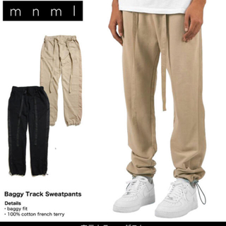 FEAR OF GOD - mnml Baggy Track Sweatpants beige S size