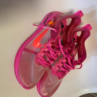 ナイキ(NIKE)の【中古品】Off-White Nike The 10 Zoom Fly(スニーカー)
