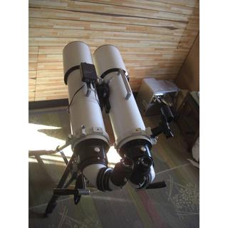 松本式EMS 13cmアポ BLANCA130EDT 双眼望遠鏡セット 銀ミラー