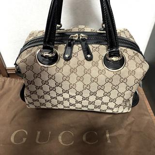 Gucci - GUCCI ミニボストンバッグ