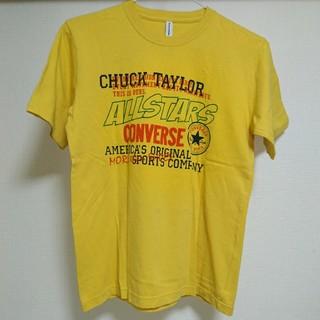 コンバース(CONVERSE)の★CONVERSE コンバース 新品 Tシャツ メンズM マスタードカラー 黄色(Tシャツ/カットソー(半袖/袖なし))
