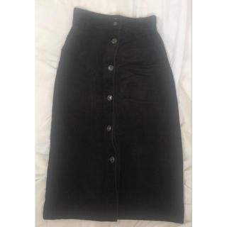 ウィゴー(WEGO)のコーデュロイ スカート(ひざ丈スカート)
