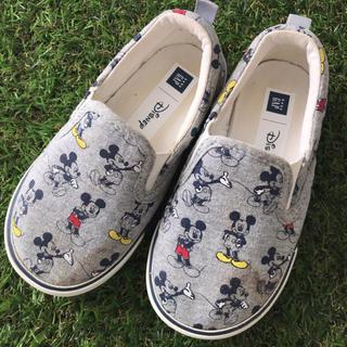 babyGAP - babyGAP ディズニー ミッキーマウス スリッポン シューズ 14.0㎝