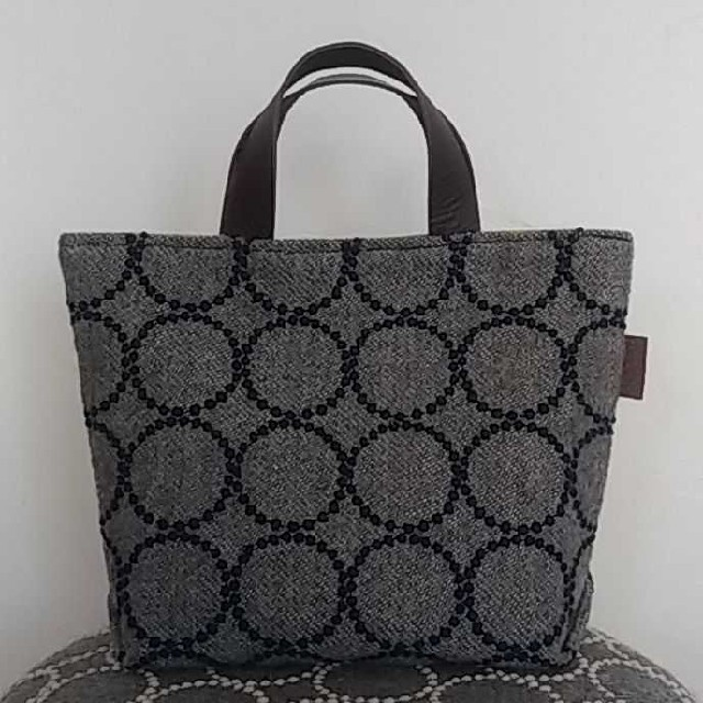 mina perhonen(ミナペルホネン)のハンドメイド ミナペルホネン トートバッグ レディースのバッグ(トートバッグ)の商品写真