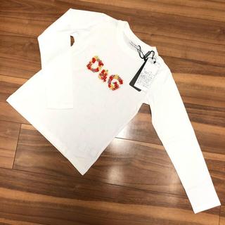 ドルチェアンドガッバーナ(DOLCE&GABBANA)のDOLCE&GABBANA 長袖 Tシャツ(Tシャツ/カットソー)