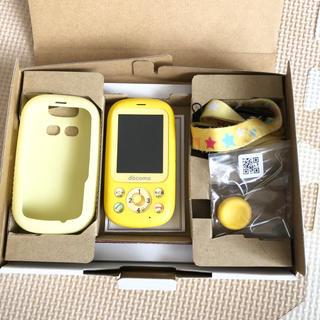 エヌティティドコモ(NTTdocomo)のドコモ、キッズケータイ、F-03J(携帯電話本体)