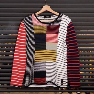 フェンディ(FENDI)の新品同様 フェンディ 長袖 ニット セーター かぎ編み マルチカラー 46(ニット/セーター)