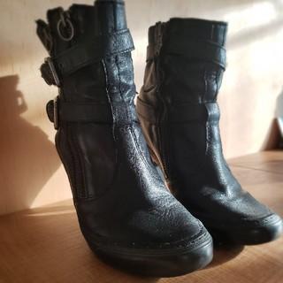 アッシュ(ASH)の本革ショートブーツ ASH  36インチ(ブーツ)