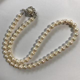 真珠 ネックレス 箱付き パール