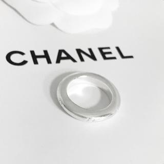 CHANEL - 正規品 シャネル 指輪 シルバー アルファベット 銀 SV925 ロゴ リング