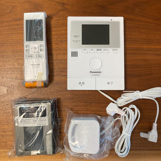 Panasonic - Panasonic ワイヤレスモニター付テレビドアホン VL-SWD220K