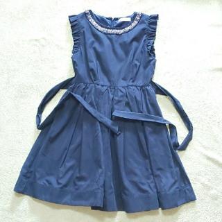 ティティアンドコー(titty&co)のtitty&co. ドレス ワンピース ノースリーブ(ひざ丈ワンピース)