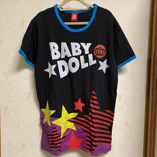 ベビードール(BABYDOLL)の新品未使用品☆BABY DOLL 半袖Tシャツ Lサイズ(Tシャツ/カットソー(半袖/袖なし))