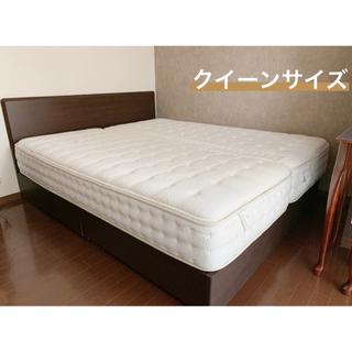 ベッド フレーム サイズ クイーン