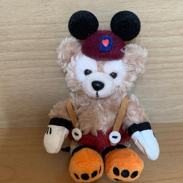 Disney(ディズニー)のダッフィー  ぬいぐるみキーホルダー エンタメ/ホビーのおもちゃ/ぬいぐるみ(ぬいぐるみ)の商品写真