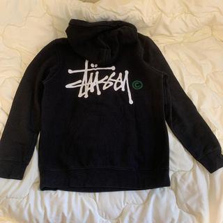 ステューシー(STUSSY)のstussy basic logo hoodie(パーカー)