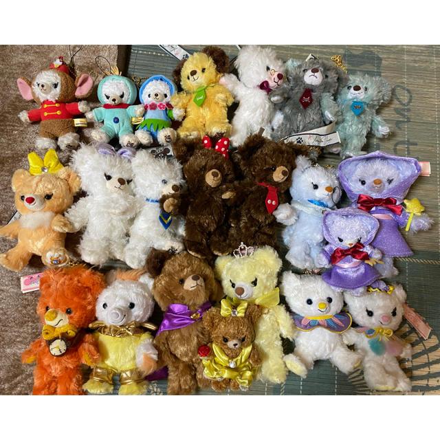 Disney(ディズニー)のユニベア ぬいぐるみバッジセット エンタメ/ホビーのおもちゃ/ぬいぐるみ(ぬいぐるみ)の商品写真