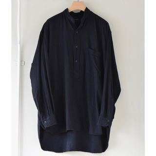 COMOLI - 新品 20aw サイズ 2 COMOLI シルクネル プルオーバーシャツ