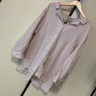 ダブルクローゼット(w closet)のシャツブラウス(シャツ/ブラウス(長袖/七分))